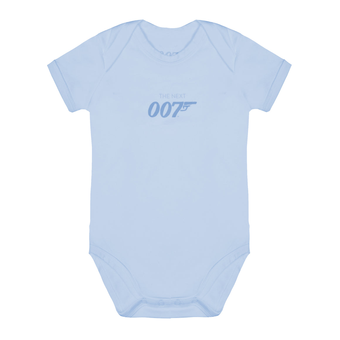 The Next 007 Blue Baby Bodysuit