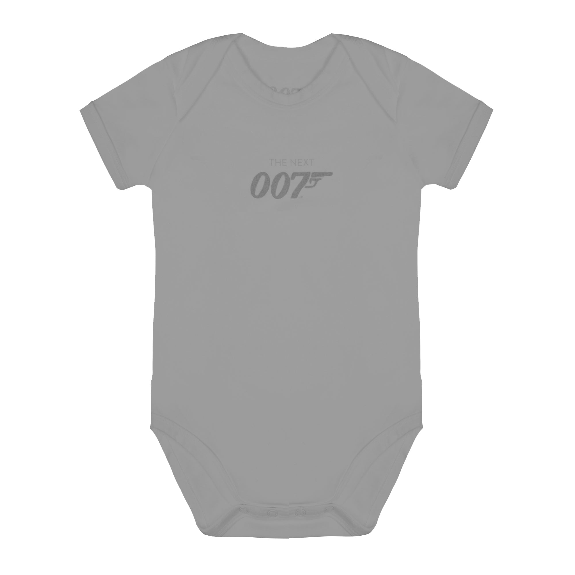 The Next 007 Grey Marl Baby Bodysuit