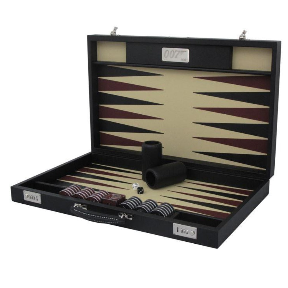 007 Bespoke Backgammon Set - Numbered Edition Handmade To Order By Geoffrey Parker