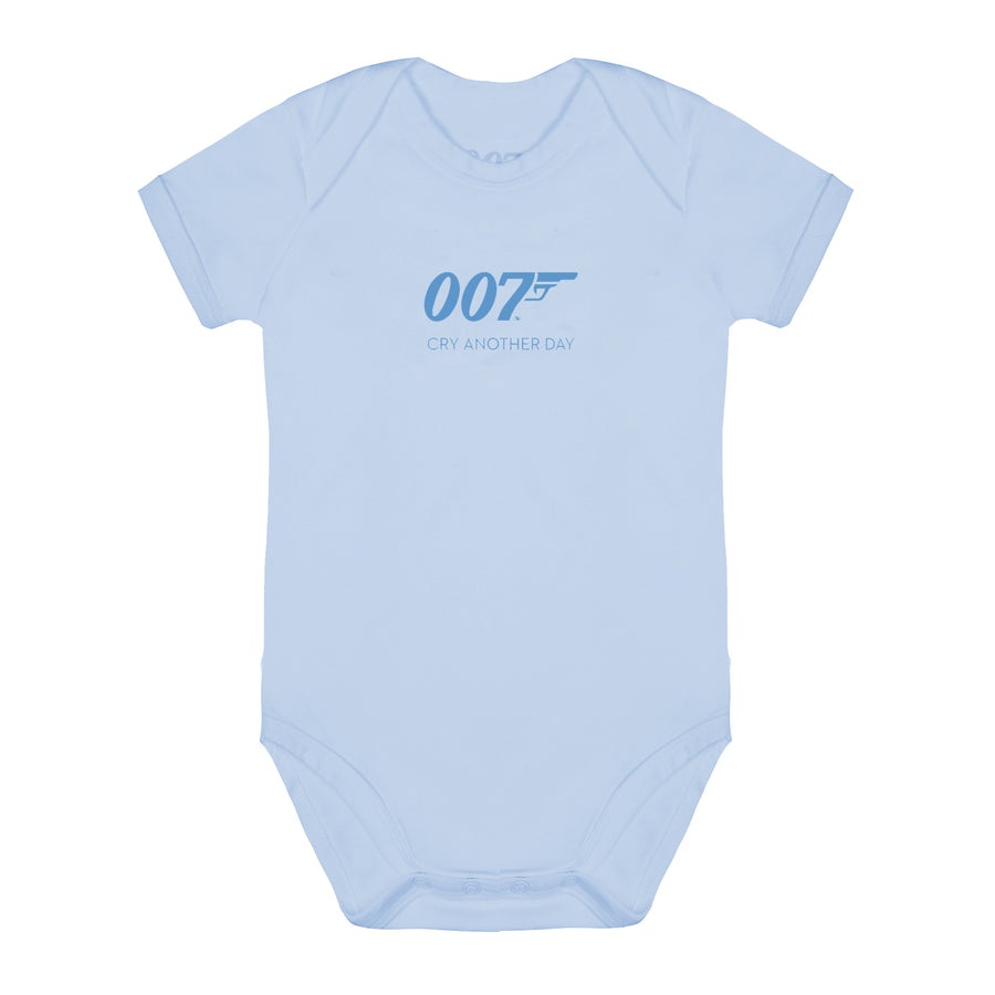 Cry Another Day 007 Blue Baby Bodysuit