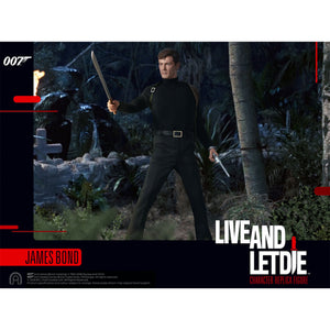James Bond 1:6 Scale Figure - Live And Let Die Limited Edition - By Big Chief Studios