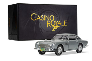James Bond Aston Martin DB5 Model Car - Casino Royale Edition - By Corgi