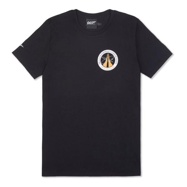Drax Enterprise Corporation Black T-shirt - Moonraker Edition