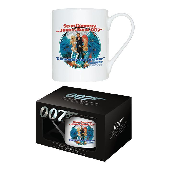 Diamonds Are Forever Bone China Mug