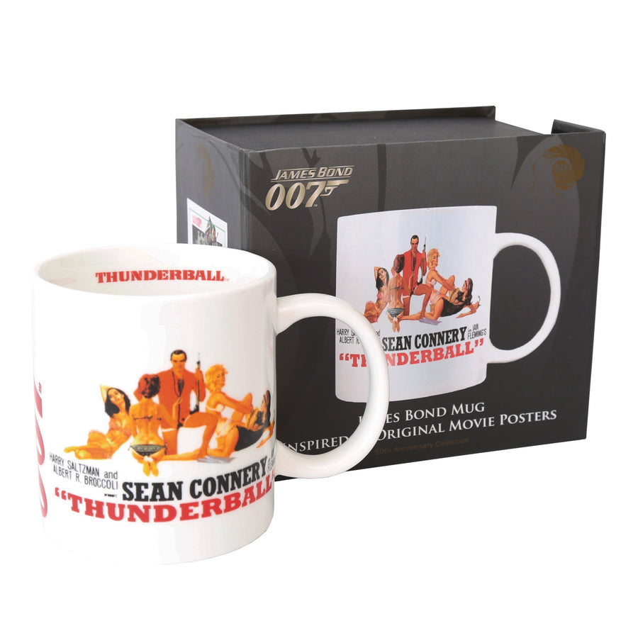 THUNDERBALL 50TH ANNIVERSARY MUG COLLECTION