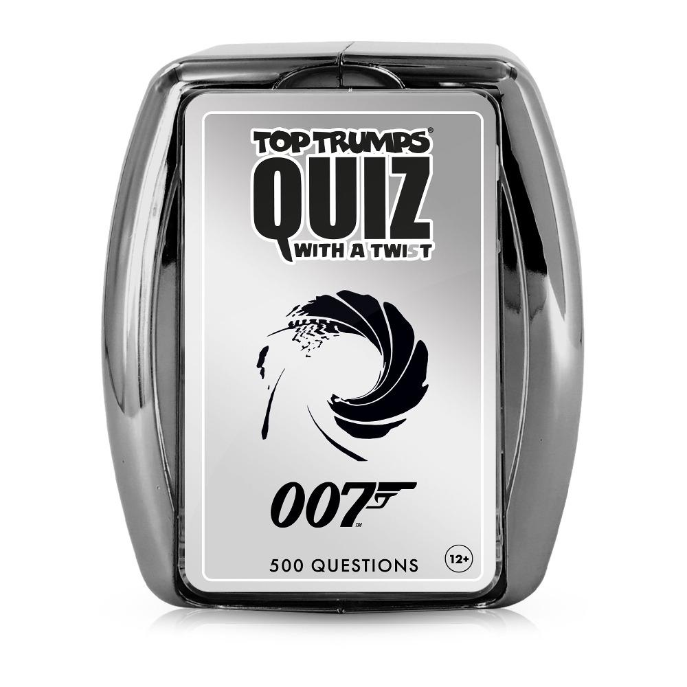 007 James Bond Top Trumps Quiz - No Time To Die Edition