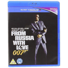 FROM RUSSIA WITH LOVE BLU-RAY