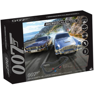 James Bond Micro Scalextric Race Set - Aston DB5 vs V8 Edition (Pre-order)