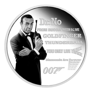 James Bond Legacy Series 1oz Silver Proof Coin - By Perth Mint (Pre-order)