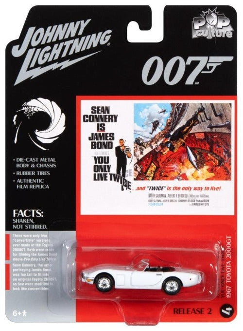 James Bond 1967 Toyota 2000GT - You Only Live Twice Edition - By Johnny Lightning