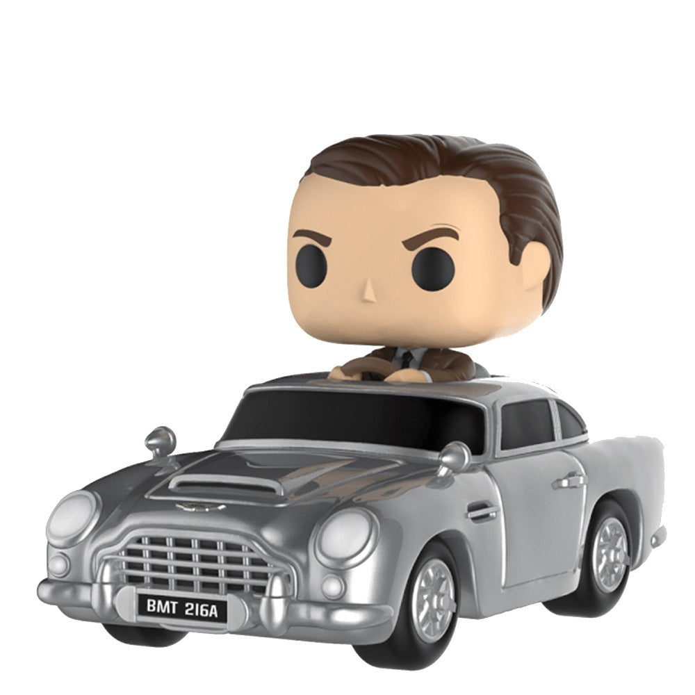 POP! RIDES JAMES BOND WITH ASTON MARTIN DB5