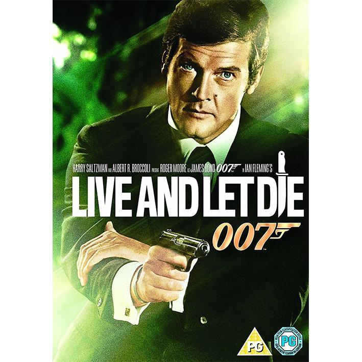LIVE AND LET DIE DVD