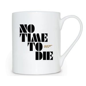 No Time To Die Bone China Mug