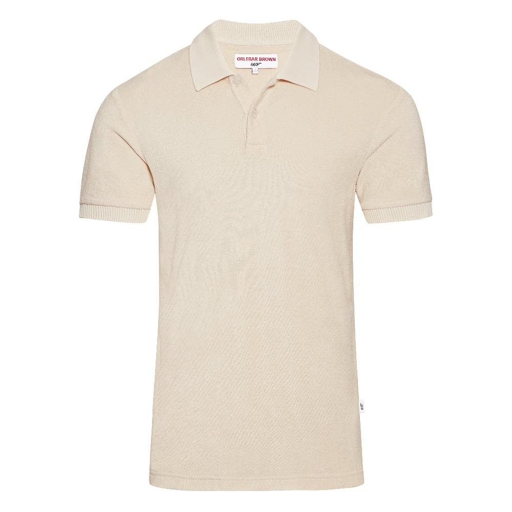 Shell Towelling Polo Shirt - Dr. No Edition - By Orlebar Brown - 007STORE
