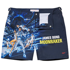 Moonraker Graphic Swim Shorts By Orlebar Brown