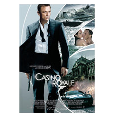 CASINO ROYALE POSTCARD