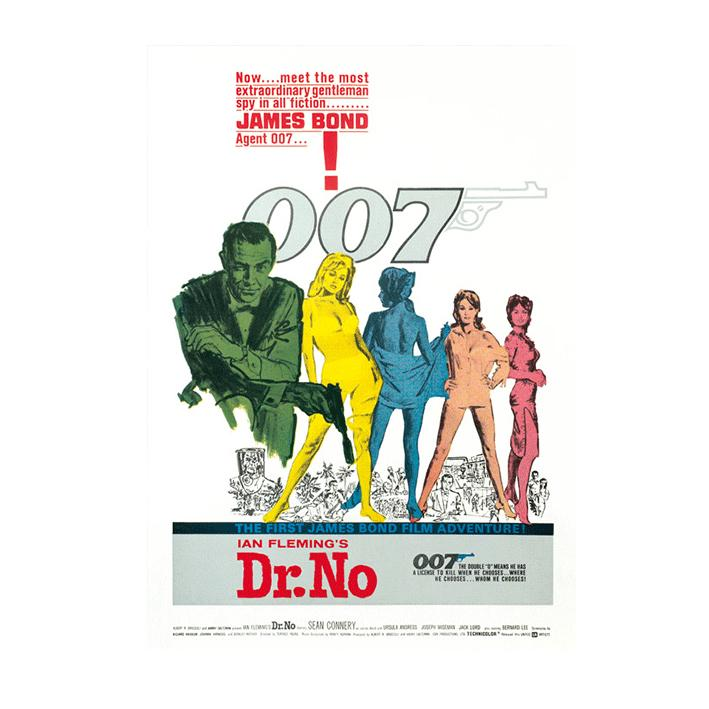 DR. NO POSTCARD