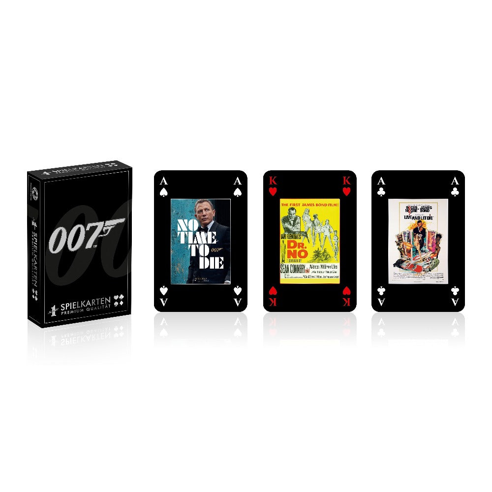 James Bond 007 Playing Cards - By Number 1 Playing Cards