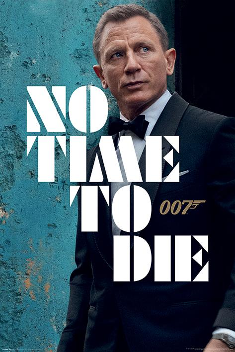 No Time To Die Maxi Poster - James Bond In Tuxedo Edition - 007STORE