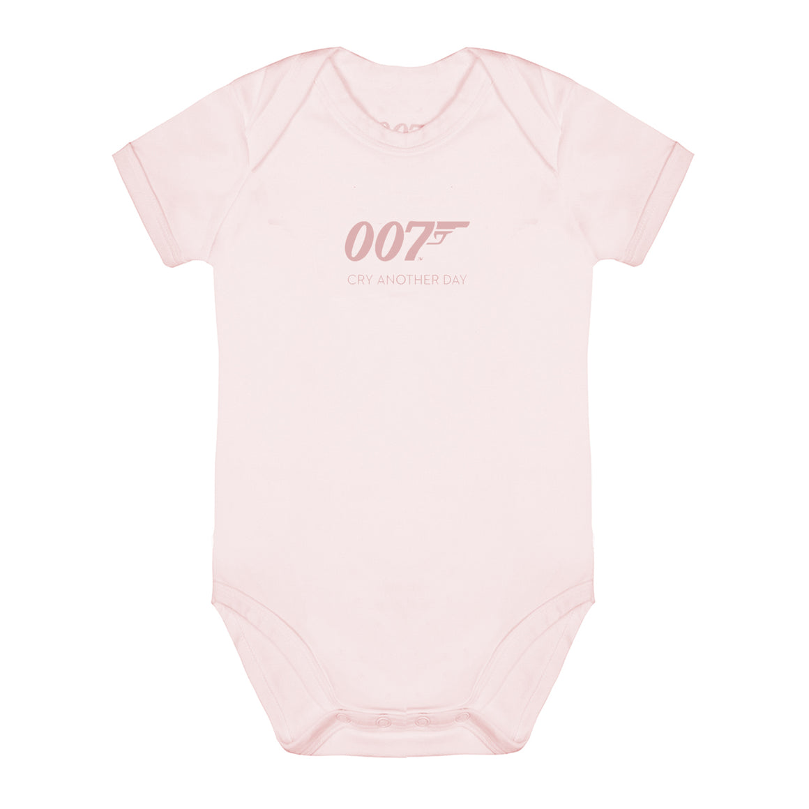 Cry Another Day 007 Pink Baby Bodysuit