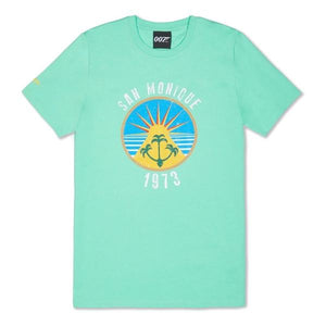 Sea Green San Monique Island T-Shirt - Live And Let Die Limited Edition