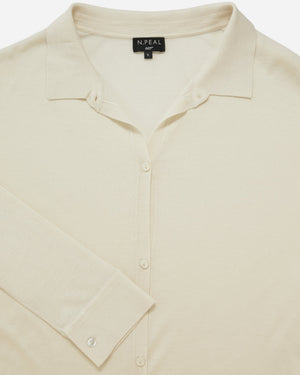 Women's Silk & Superfine Cashmere Shirt - Honey Ryder Edition - By N. Peal