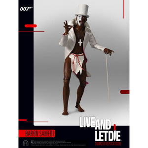 LIMITED EDITION 1:6 SCALE BARON SAMEDI LIVE AND LET DIE FIGURE (PRE-ORDER)