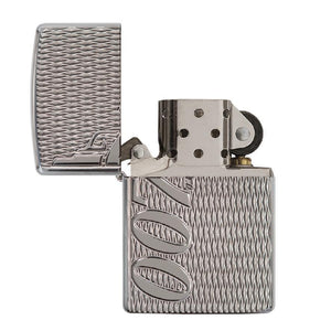 JAMES BOND ZIPPO LIGHTER (007 LOGO HIGH POLISH CHROME)