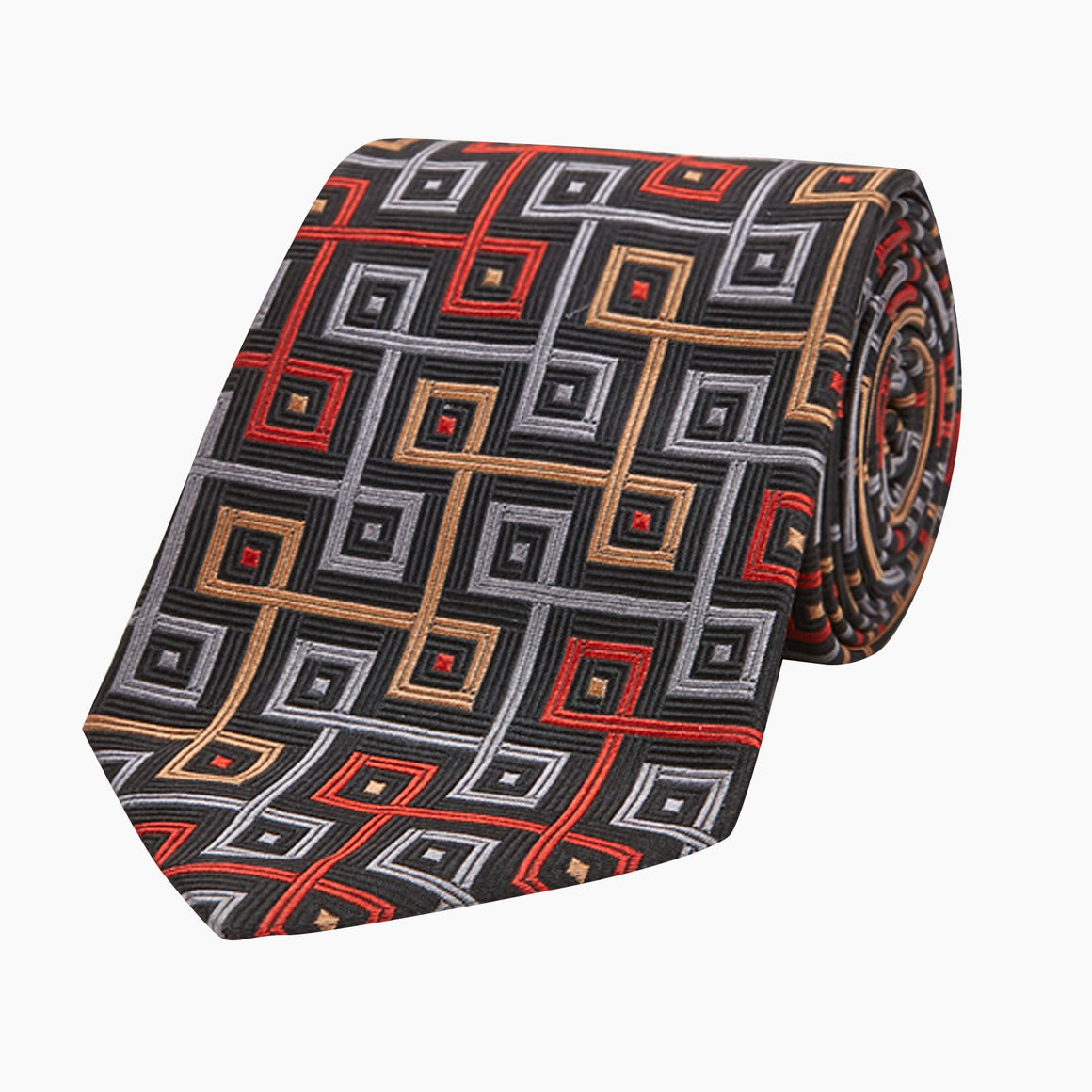 Silk Tie By Turnbull & Asser - The World Is Not Enough Edition
