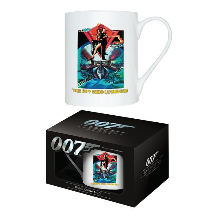 The Spy Who Loved Me Bone China Mug