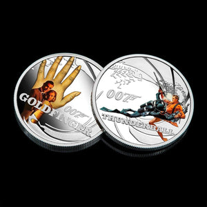James Bond Goldfinger & Thunderball Two Coin Set - By The Perth Mint