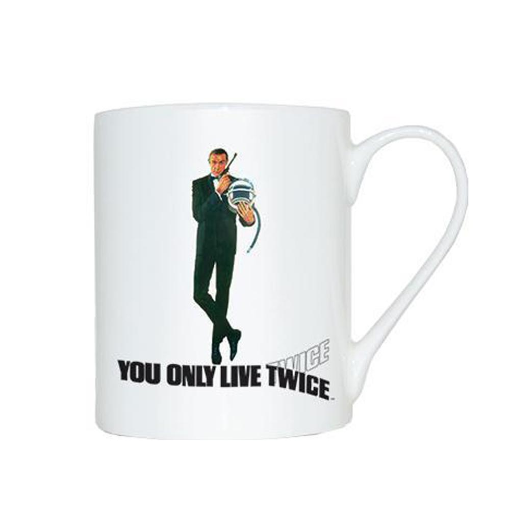 You Only Live Twice Bone China Mug