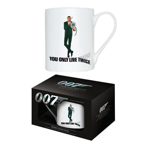 YOU ONLY LIVE TWICE - BONE CHINA MUG