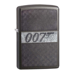 JAMES BOND ZIPPO LIGHTER (007 LOGO GREY)