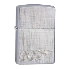 JAMES BOND ZIPPO LIGHTER (007 LOGO SILVER)