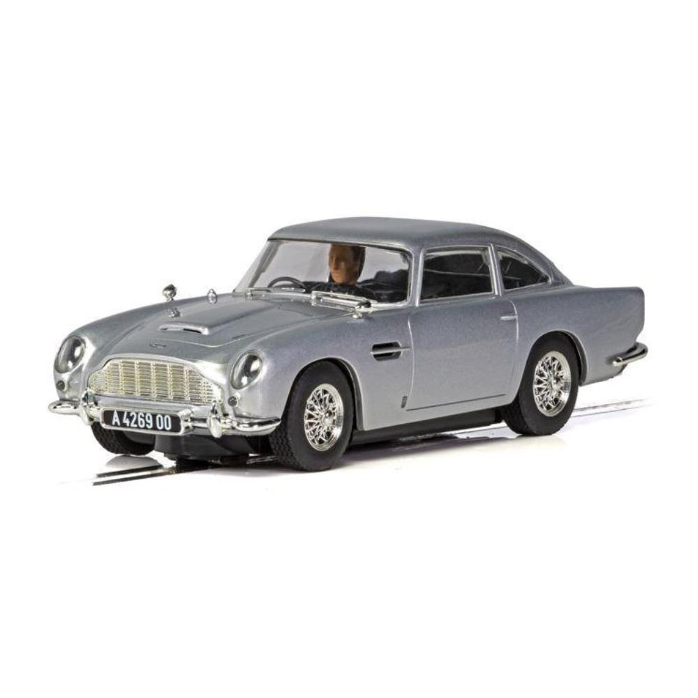 James Bond Aston Martin DB5 Slot Car - No Time To Die Edition - By Scalextric