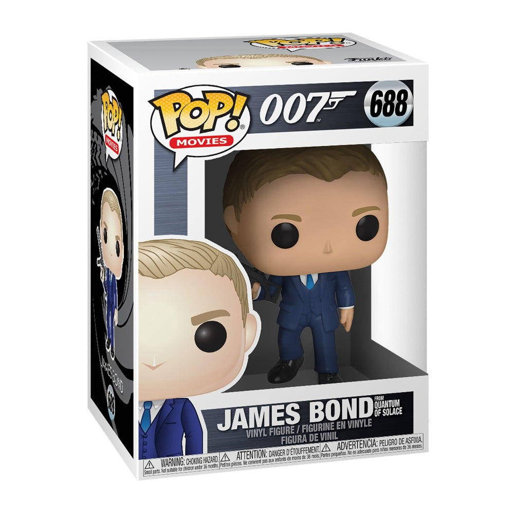 James Bond Pop! Figure - Quantum of Solace Edition - By Funko