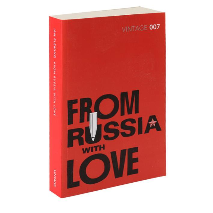 From Russia With Love Paperback Book - Vintage 007 Edition