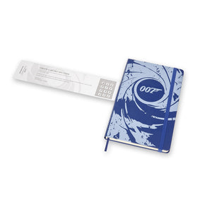 007 Blue Gun Barrel Notebook By Moleskine