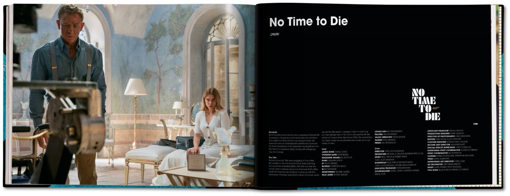 The James Bond Archives - No Time To Die Edition - By Taschen (Pre-order)