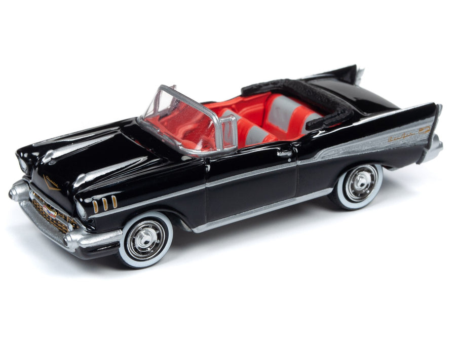 James Bond 1957 Chevy Bel Air Model Car with Display Tin - Dr. No Edition - by Round 2