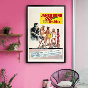 Dr. No Fine Art Print - Numbered Edition (Unframed)