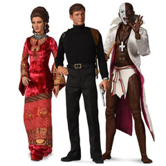 LIMITED EDITION 1:6 SCALE LIVE AND LET DIE COLLECTION FIGURES (PRE-ORDER)