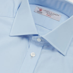Blue Cotton Shirt by Turnbull & Asser - Dr. No Edition