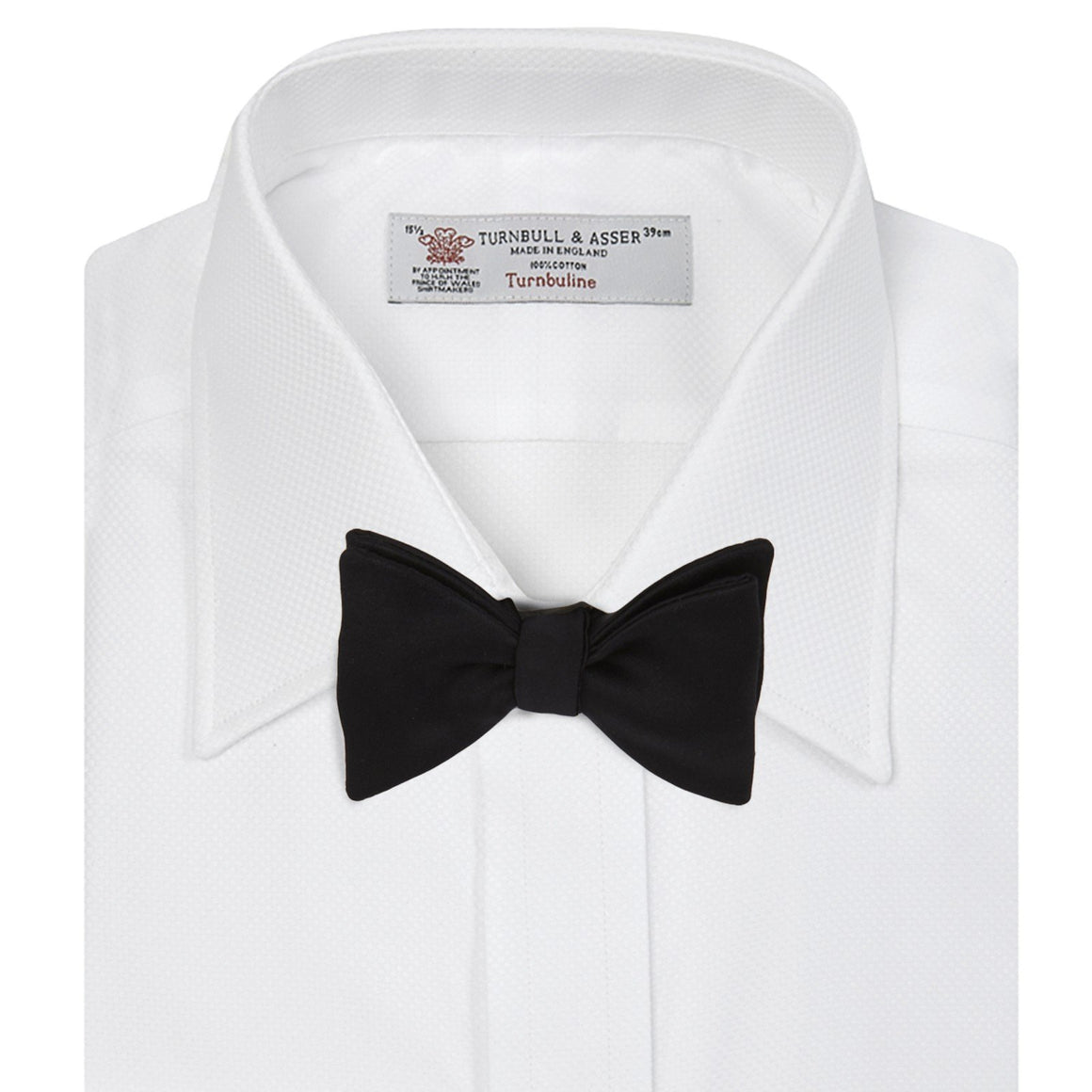 White Cotton Dress Shirt By Turnbull & Asser - Casino Royale Edition