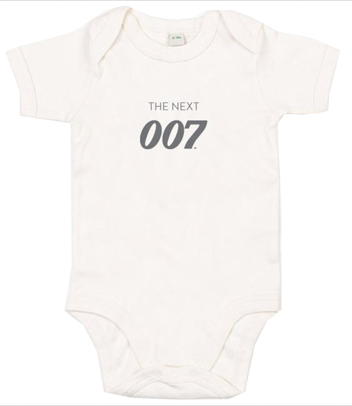 New The Next 007 Natural Baby Bodysuit - 007STORE