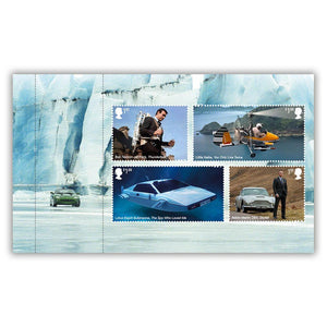 Royal Mail James Bond Prestige Stamp Book - Limited Edition