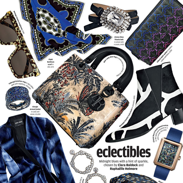 HOW TO SPEND IT | ECLECTIBLES - MIDNIGHT BLUES