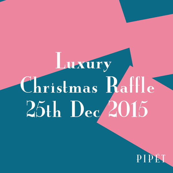 Announcing the Winners of the 2015 Luxury Christmas Raffle