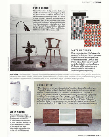 Elle Decoration Magazine Pipet accessories